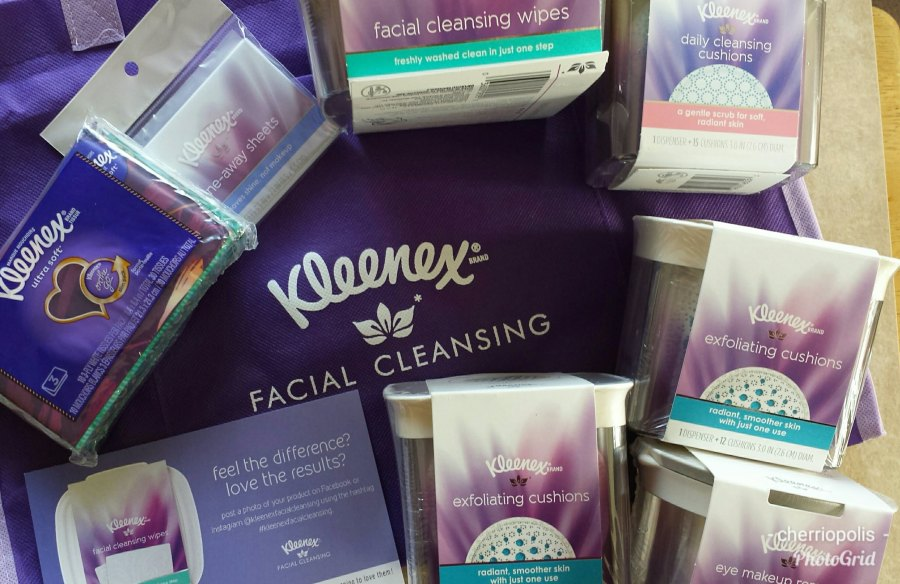 kleenex facial cleansing wipes review
