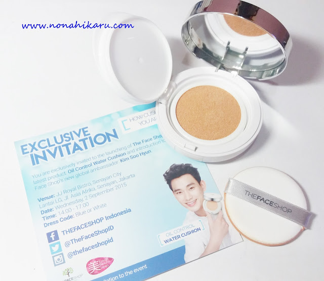 the face shop oil control water cushion review indonesia