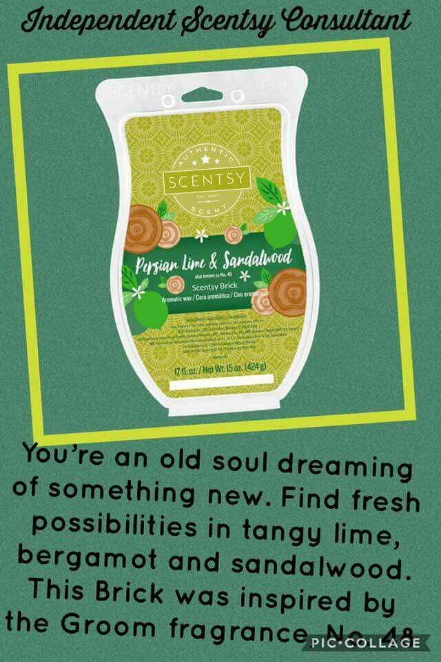 persian lime and sandalwood scentsy review