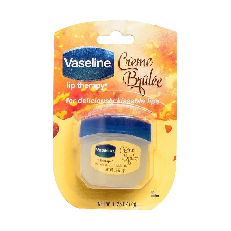 vaseline lip therapy creme brulee review indonesia