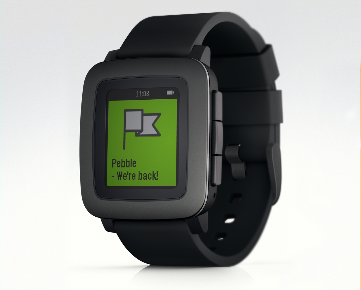 pebble time steel review 2017