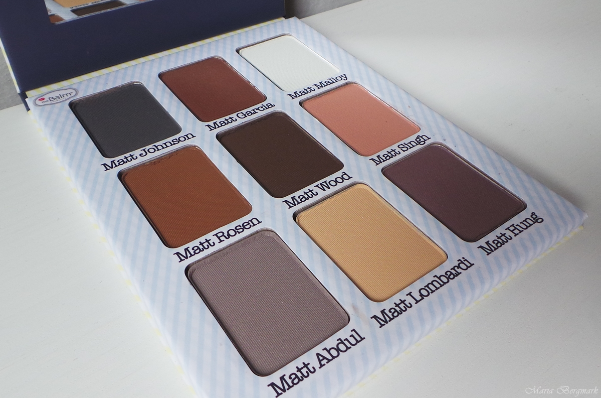 the balm eyeshadow palette review