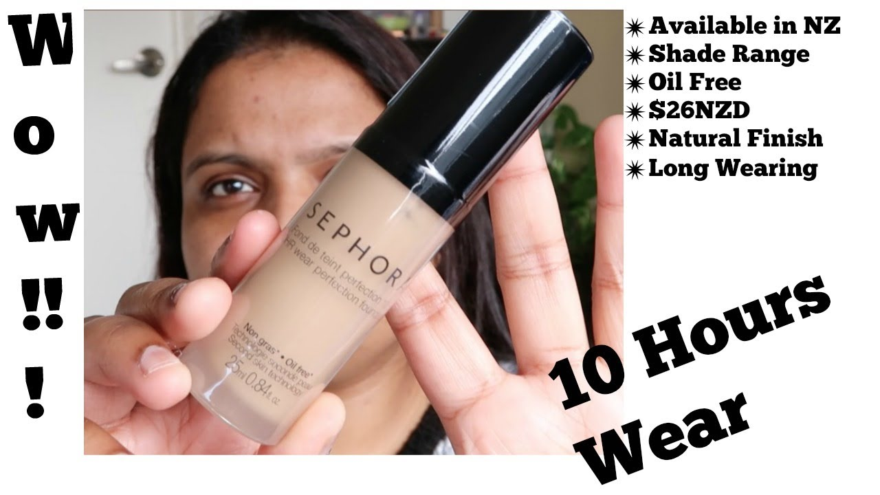 sephora 10 hour wear perfection foundation review