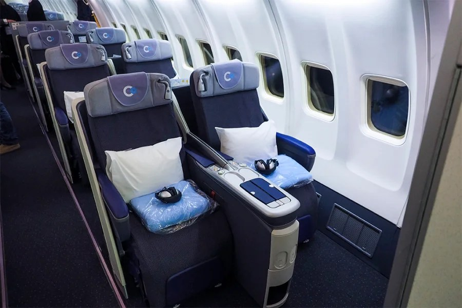 us airways business class review