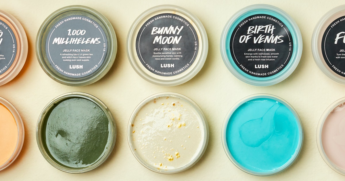 lush jelly face mask review