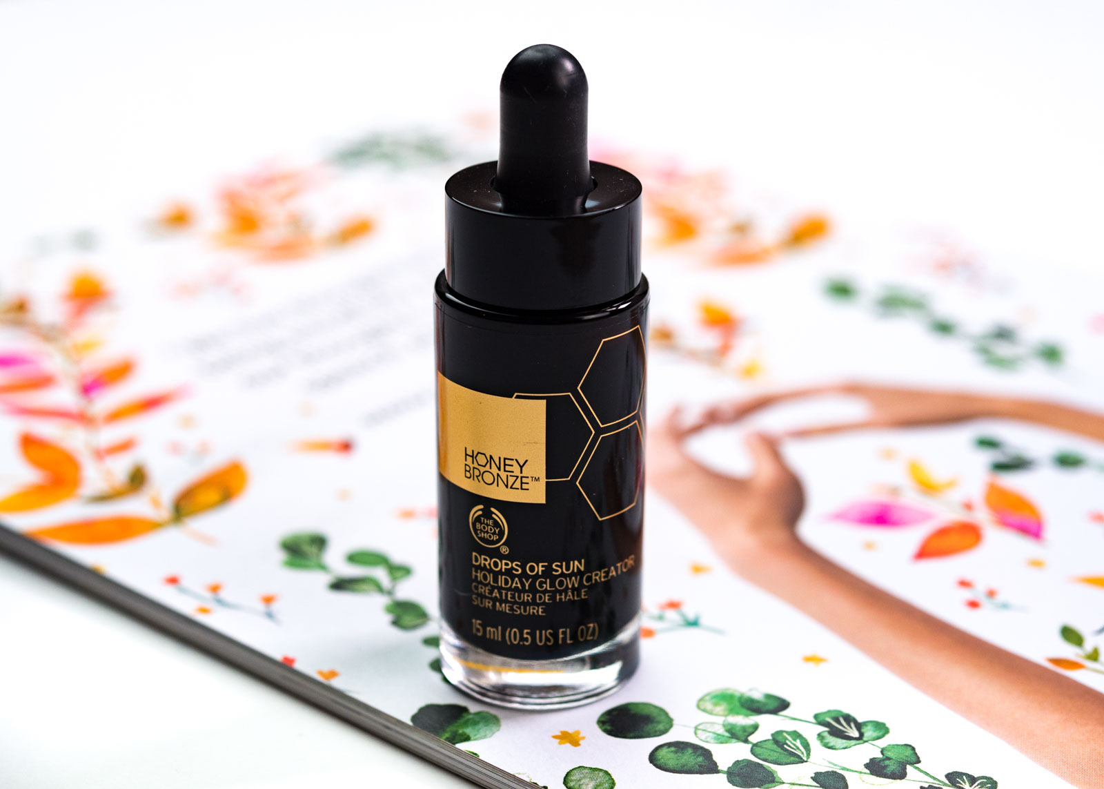 the body shop drops of glow review
