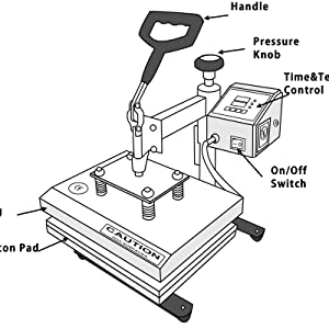 middle graphics heat press review