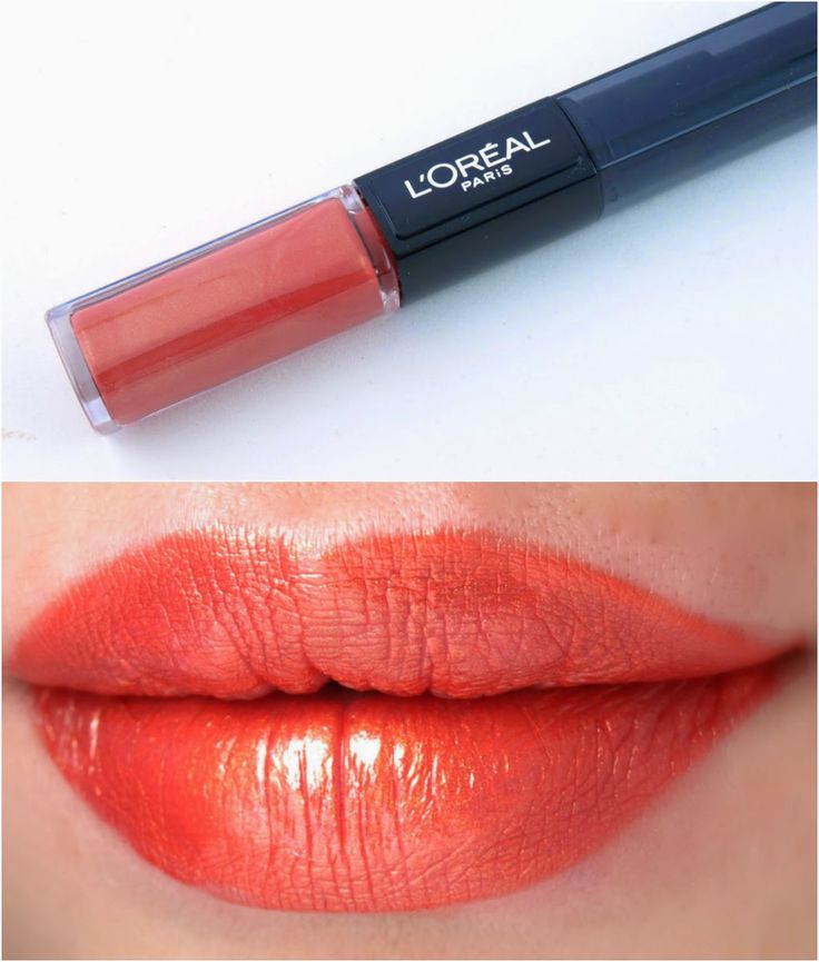 l oreal infallible 2 step lip color review