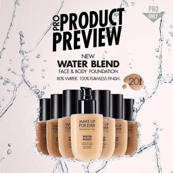 makeup forever water blend foundation review