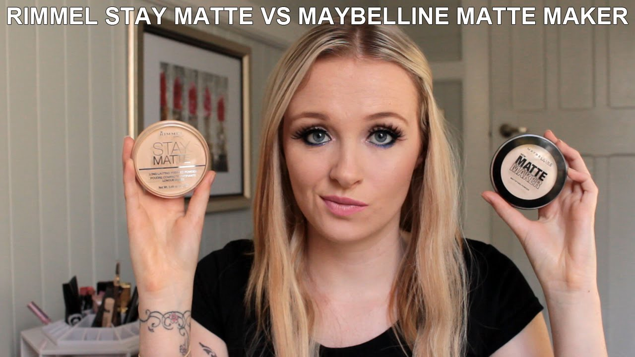 maybelline stay matte powder review