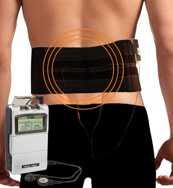 sanitas back belt with tens device reviews